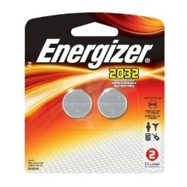 2 X ENERGIZER CR2032 LITHIUM BATTERIES