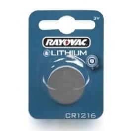 RAYOVAC CR1216 LITHIUM BATTERY