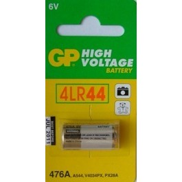1 X GP 4LR44 6V ALKALINE BATTERY