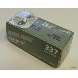 RAYOVAC 337 (SR416SW) SILVER OXIDE WATCH