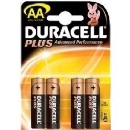 4 X DURACELL PLUS POWER AA