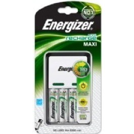 ENERGIZER COMPACT MAXI CHARGER includes 4 X AA 2000mAh batteries