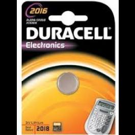 DURACELL CR2016 LITHIUM BATTERY
