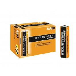 BOX OF 10 DURACELL INDUSTRIAL PROCELL AA, MN1500, LR6