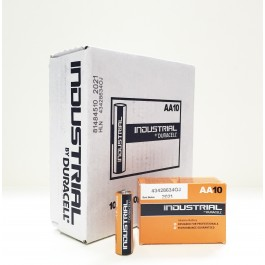 Duracell Industrial AA Alkaline 1.5v - BOX of 100 (Bulk Deal)
