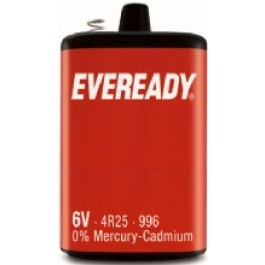 EVEREADY 4R25 6V LANTERN BATTERY