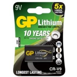 GP Lithium 9v batter