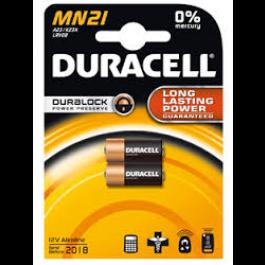 2 X DURACELL LRV08, MN21 12 VOLT