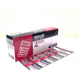 Maxell CR2032 Lithium - BOX of 100 (Bulk Deal)