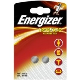 2 X ENERGIZER LR44/A76/AG13/L1154 ALKALINE 1.5 V CELL BATTERIES
