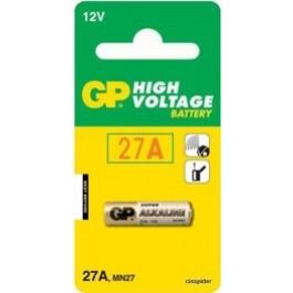 1 X GP 12V 27A Alkaline Battery