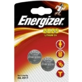 2 X ENERGIZER CR2025 LITHIUM BATTERIES