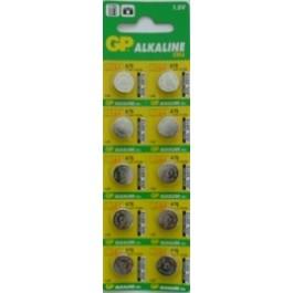 10 X GP LR44/A76/AG13 1.5 V CELL BATTERIES