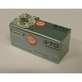 RAYOVAC SR920W (370) WATCH BATTERY