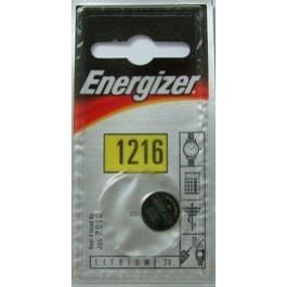 1 X ENERGIZER LITHIUM - CR1216