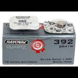 RAYOVAC SR41W (392) WATCH BATTERY