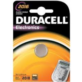 DURACELL CR2016 LITHIUM BATTERY