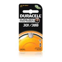 Duracell 301 and 386