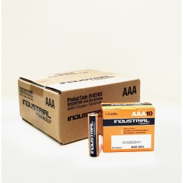 Duracell Industrial AAA Alkaline 1.5v X 100 (BOX of 100 Bulk Deal)