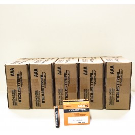 Duracell Industrial AAA Alkaline 1.5v X 500 (5 x BOXES of 100
