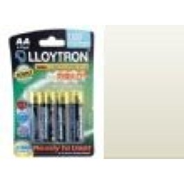 4 X LLOYTRON 1300 mAh NI-MH AA SIZE RECHARGEABLE BATTERIES