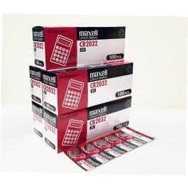 Maxell CR2032 Lithium - BOX of 500 (Bulk Deal)