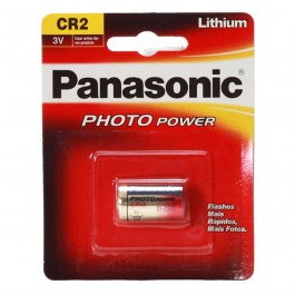 1 X PANASONIC CR2 3V PHOTO LITHIUM