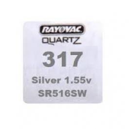 RAYOVAC SR516SW (317) WATCH BATTERY